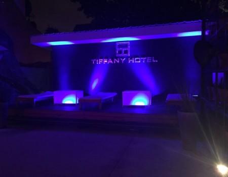 Iluminacion Tifanny Hotel
